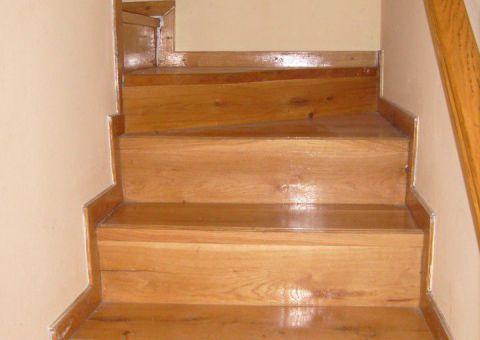Lépcső az apartmanban
